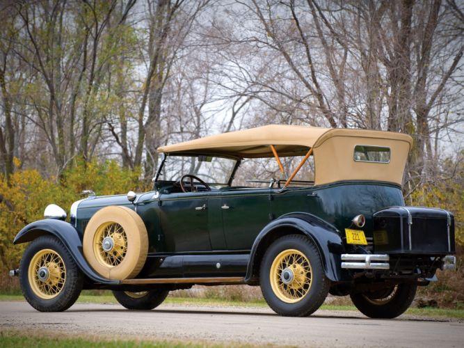 1930 Lincoln Model-L Dual Cowl Sport Phaeton retro convertible g wallpaper
