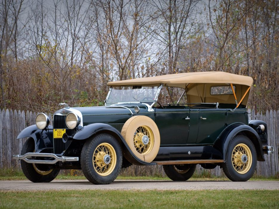 1930 Lincoln Model-L Dual Cowl Sport Phaeton retro convertible wallpaper
