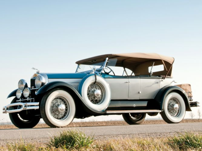1930 Lincoln Model-L Dual Cowl Sport Phaeton by Locke retro luxury wheel h wallpaper