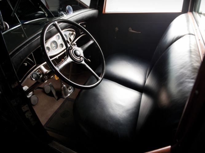 1931 Lincoln Model-K Limousine luxury retro interior h wallpaper