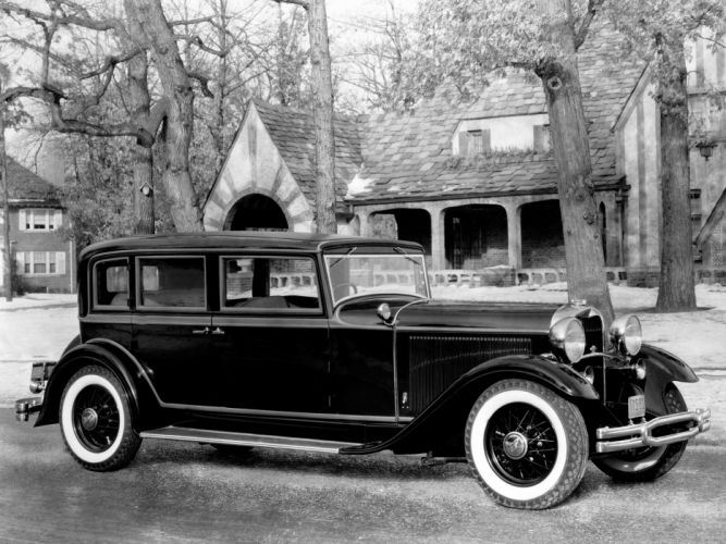 1931 Lincoln Model-K Town Sedan retro luxury wallpaper