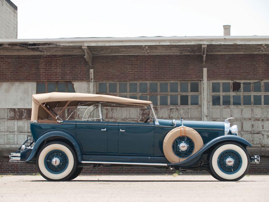 1931 Lincoln Model-L Dual Cowl Phaeton retro luxury   f wallpaper