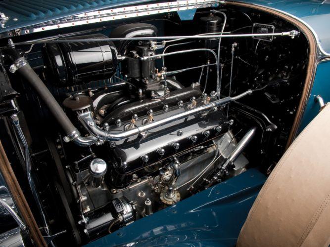 1931 Lincoln Model-L Dual Cowl Phaeton retro luxury engine f wallpaper