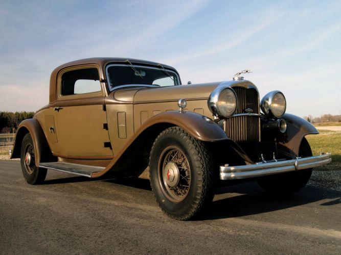 1932 Lincoln Model-KA Coupe retro f wallpaper