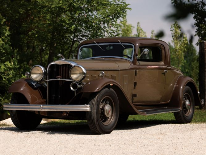 1932 Lincoln Model-KA Coupe retro wallpaper