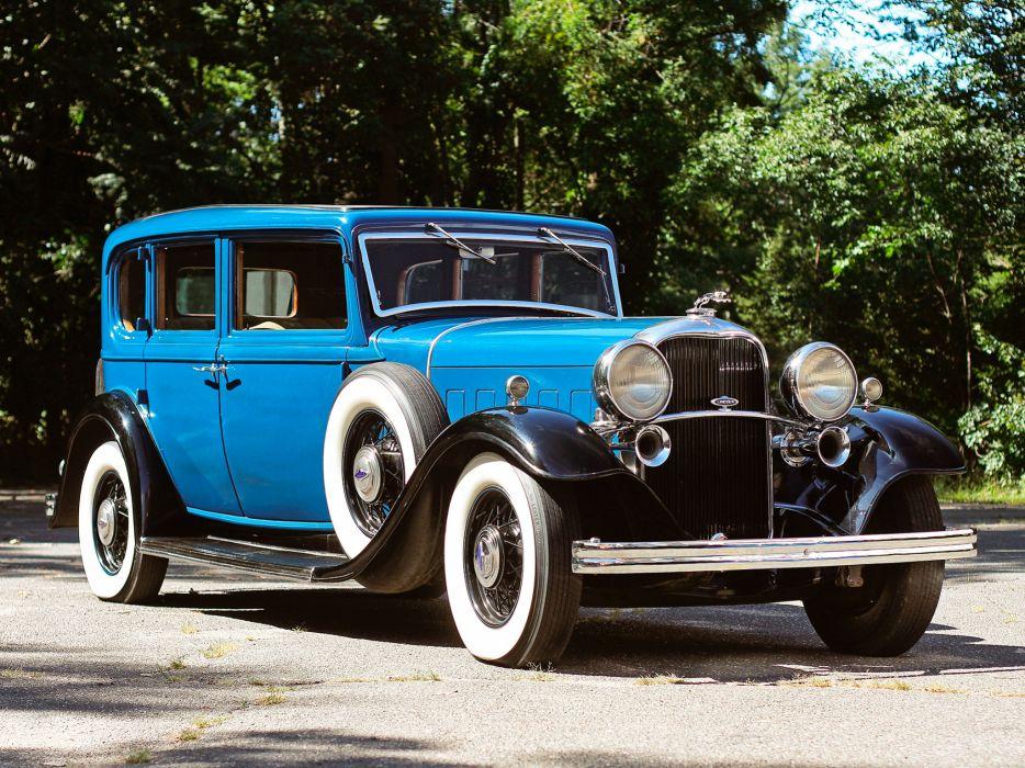 1932 Lincoln Model-KB 4-door Sedan retro luxury   f wallpaper