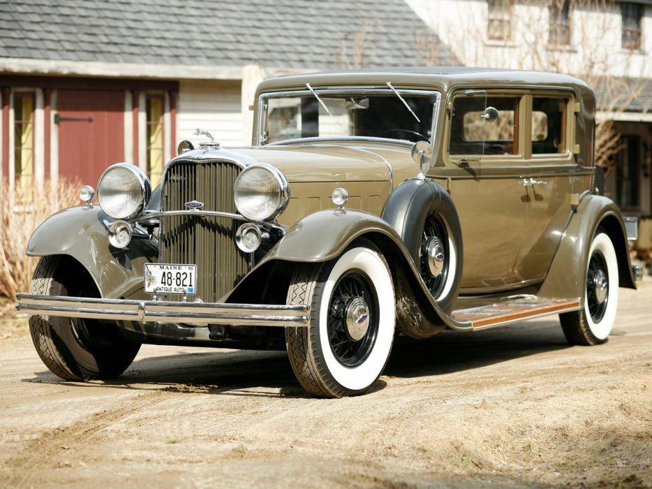 1932 Lincoln Model-KB 4-door Sedan retro luxury     g wallpaper