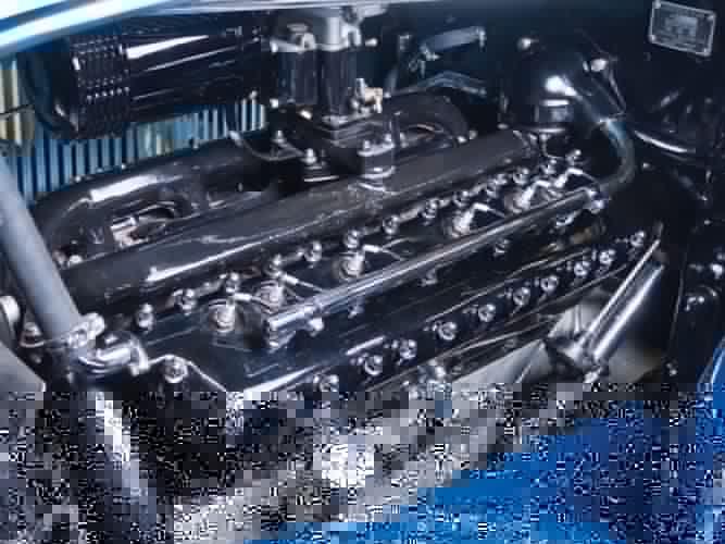 1933 Lincoln Model-KB Custom Convertible Sedan by Dietrich 261 retro luxury engine f wallpaper