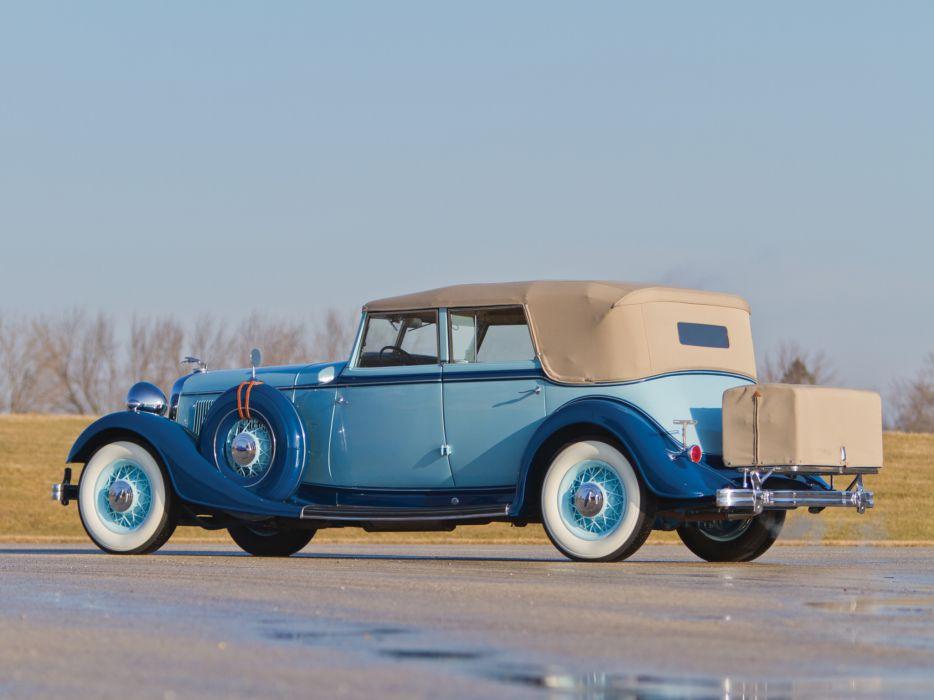 1933 Lincoln Model-KB Custom Convertible Sedan by Dietrich 261 retro luxury   g wallpaper