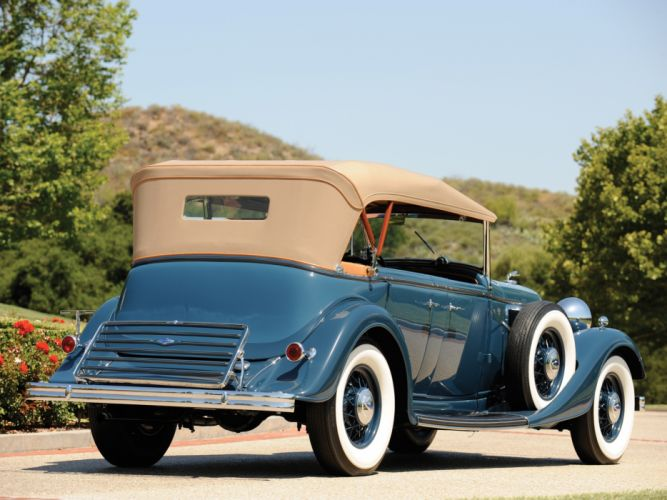 1933 Lincoln Model-KB Dual Cowl Phaeton retro luxury f wallpaper