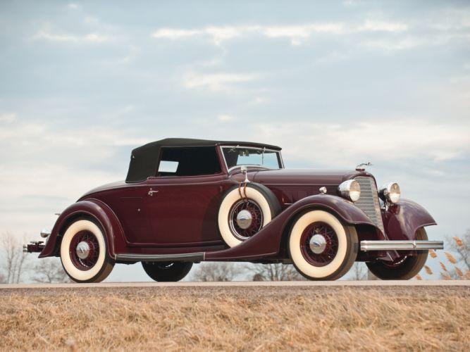 1934 Lincoln Model-KA Convertible Roadster retro luxury g wallpaper
