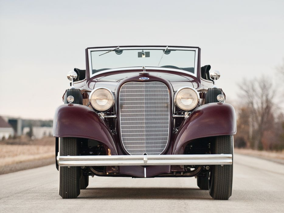 1934 Lincoln Model-KA Convertible Roadster retro luxury     g wallpaper