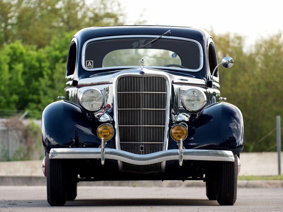 1935 Ford V8 Deluxe 3-window Coupe 48-720 retro v-8    d wallpaper
