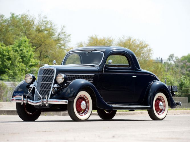 1935 ford v8 deluxe 3 window coupe 48 720 retro v 8 for 1935 ford 3 window