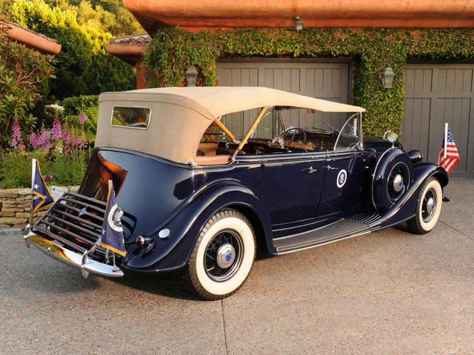 1935 Lincoln Model-K Phaeton retro luxury    g wallpaper