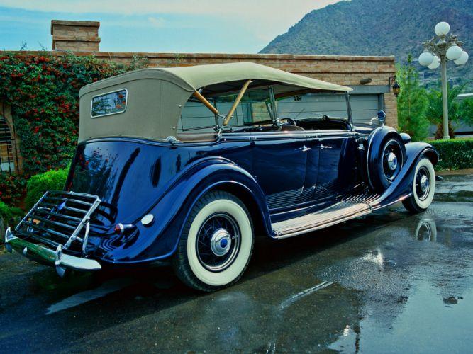 1935 Lincoln Model-K Phaeton retro luxury wallpaper