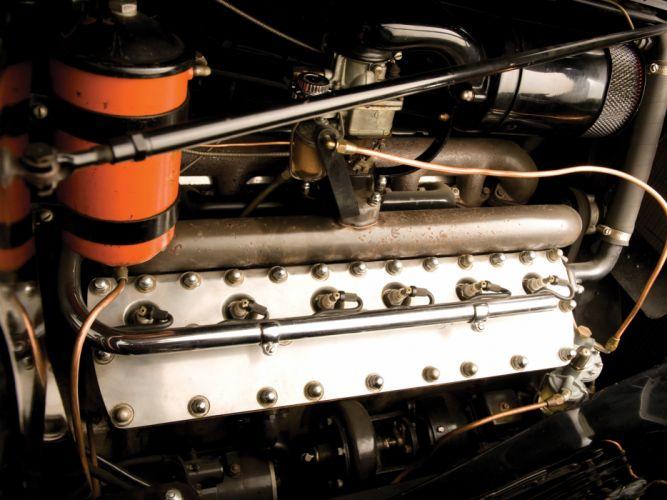 1936 Lincoln Model-K Dual Windshield Convertible Sedan by LeBaron retro luxury engine g wallpaper