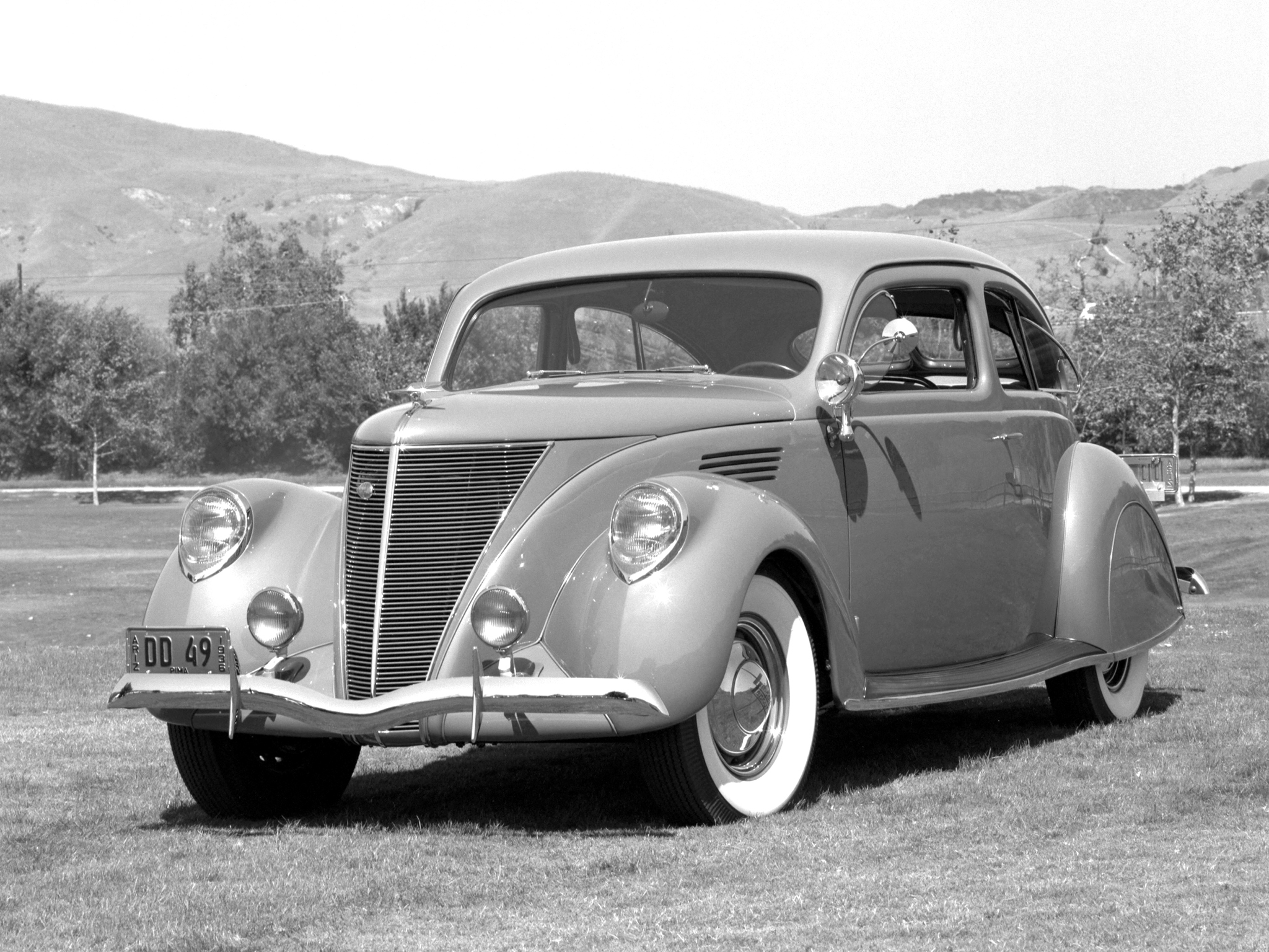 1936 lincoln zephyr 2 door sedan 903 retro wallpaper for 1936 lincoln zephyr three window coupe