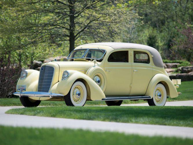 1937 Lincoln Model-K 2-window Berline by Judkins retro luxury f wallpaper