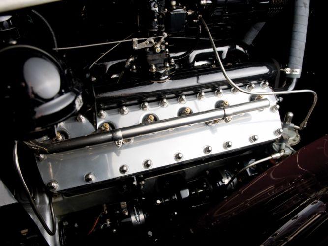 1937 Lincoln Model-K Convertible Victoria by Brunn retro luxury engine h wallpaper