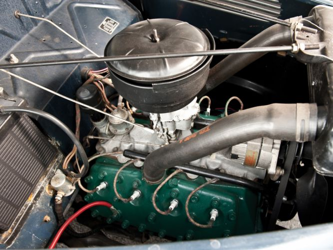 1938 Ford V8 Deluxe Convertible Coupe 81A-760A retro v-8 engine g wallpaper