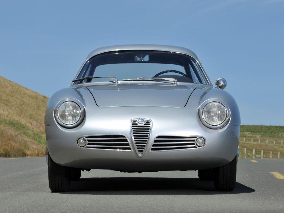 1960 Alfa Romeo Giulietta SZ Zagato classic s-z   dg wallpaper