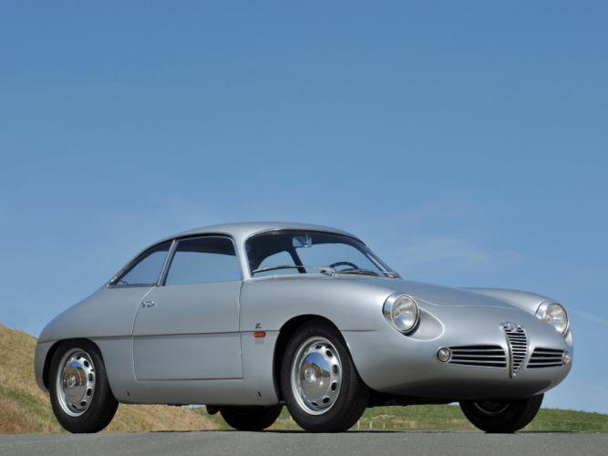 1960 Alfa Romeo Giulietta SZ Zagato classic s-z ds wallpaper