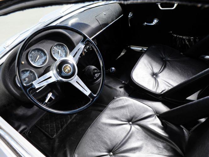 1960 Alfa Romeo Giulietta SZ Zagato classic s-z interior f wallpaper