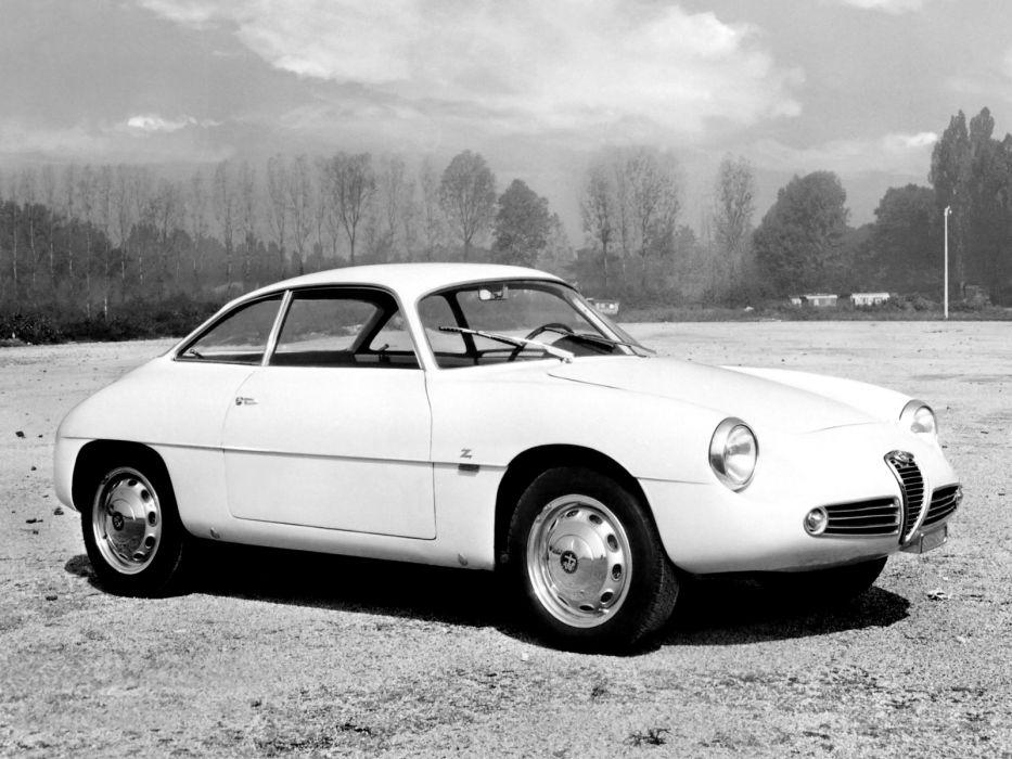 1960 Alfa Romeo Giulietta SZ Zagato classic s-z   f wallpaper