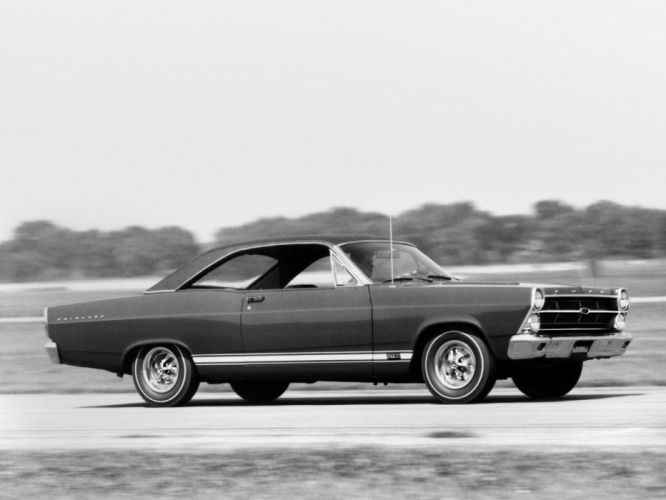 1967 Ford Fairlane 500XL GTA Hardtop Coupe 63D muscle classic d wallpaper