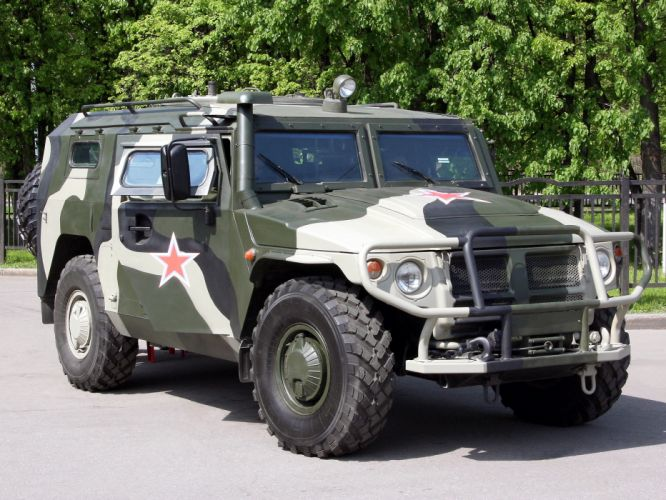 2005 GAZ 233036 SPM-2 Tiger 4x4 military emergency police fd wallpaper