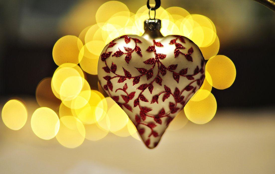 heart white pattern mood bokeh love christmas wallpaper