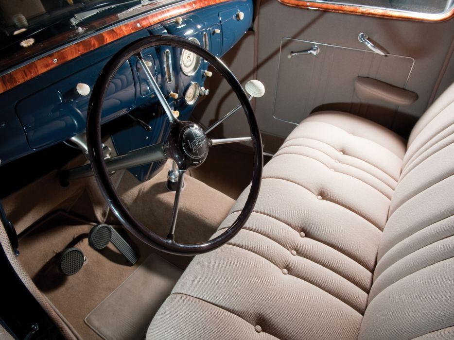 1937 Lincoln Zephyr Sedan retro interior      f wallpaper