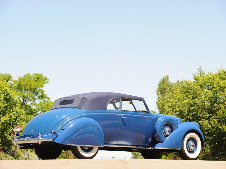 1938 Lincoln Model-K Convertible Victoria retro luxury    f wallpaper