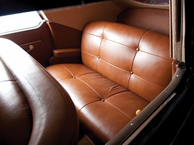 1938 Lincoln Zephyr Convertible Sedan retro luxury interior d wallpaper