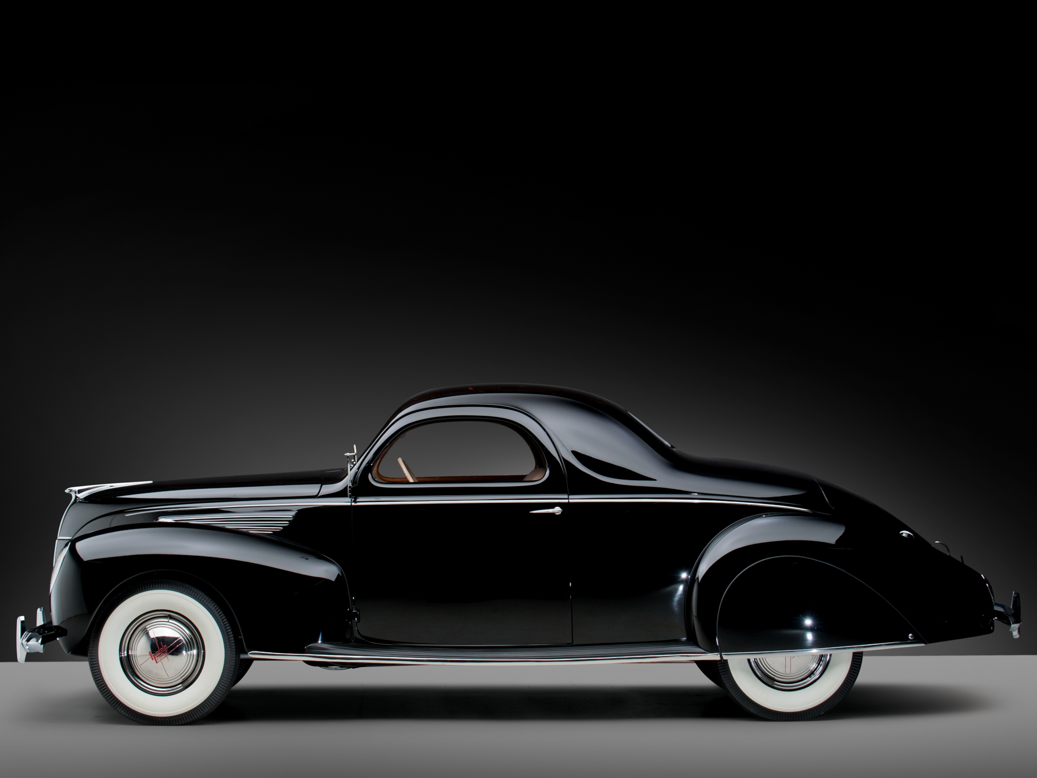 1938 lincoln zephyr coupe 270 retro d wallpaper