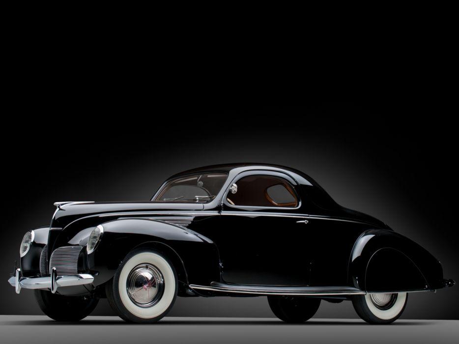 1938 Lincoln Zephyr Coupe 270 retro wallpaper