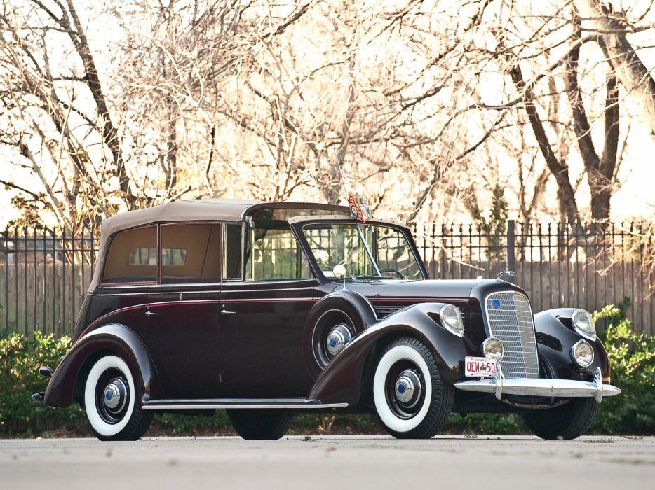 1939 Lincoln Model-K Convertible Sedan by LeBaron retro luxury   g wallpaper