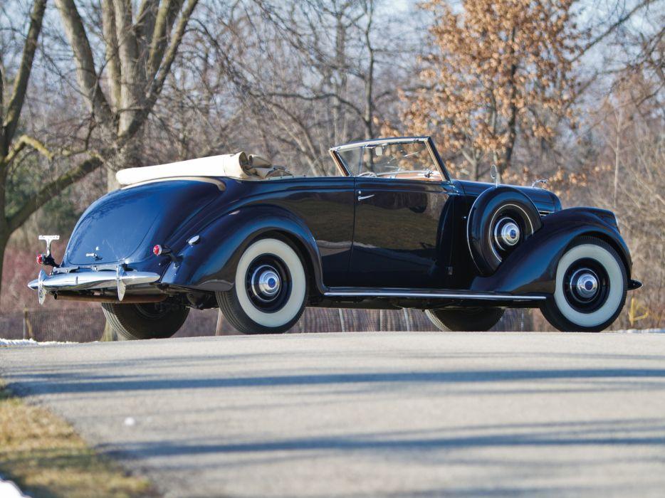 1939 Lincoln Model-K Convertible Victoria retro luxury    fw wallpaper