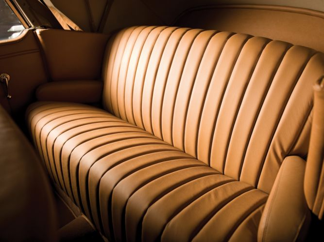 1939 Lincoln Zephyr Convertible Sedan retro luxury interior g wallpaper