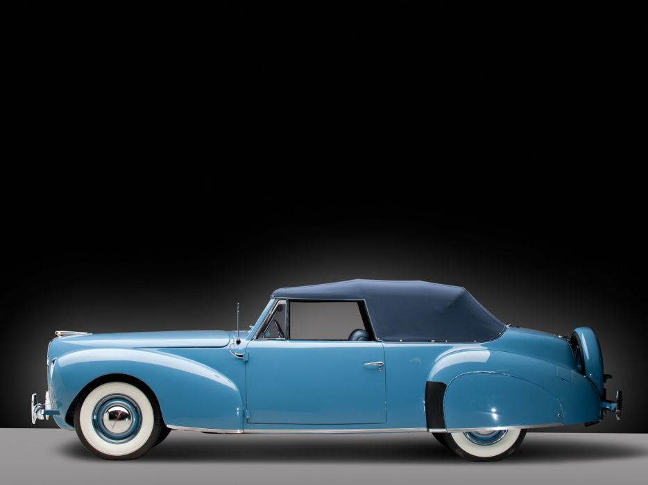 1940 Lincoln Zephyr Continental Cabriolet retro luxury   g wallpaper