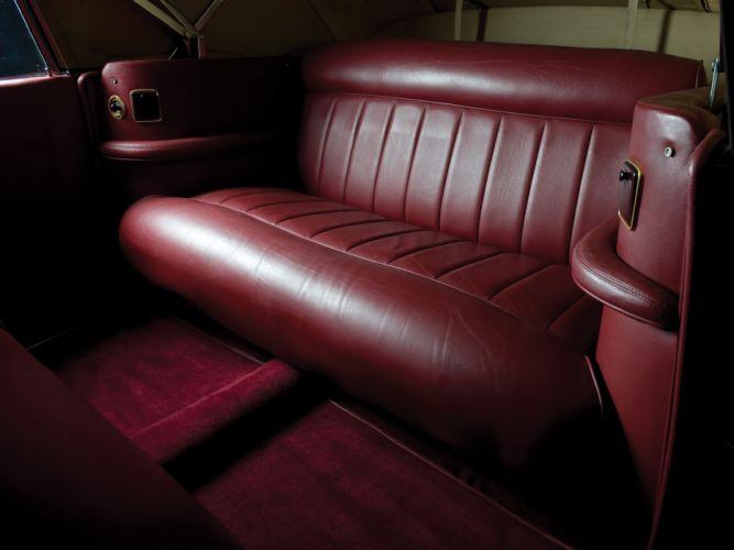1940 Lincoln Zephyr Continental Cabriolet retro luxury interior f wallpaper