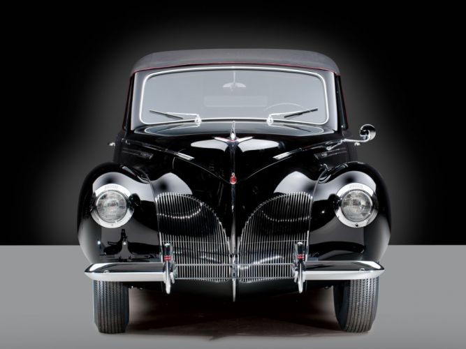 1940 Lincoln Zephyr Convertible Coupe retro luxury g wallpaper