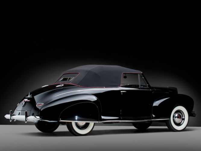 1940 Lincoln Zephyr Convertible Coupe retro luxury f wallpaper