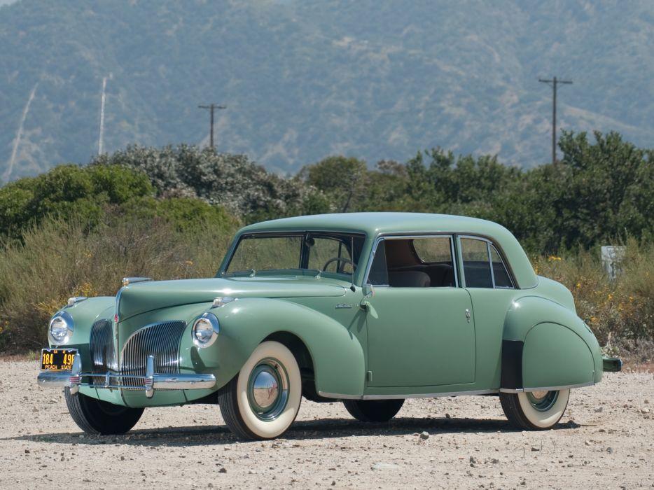 1941 Lincoln Continental Coupe retro luxury   fh wallpaper