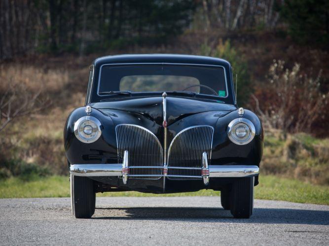 1941 Lincoln Continental Coupe retro luxury f wallpaper