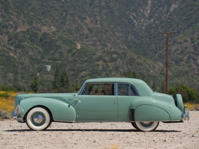 1941 Lincoln Continental Coupe retro luxury fq wallpaper