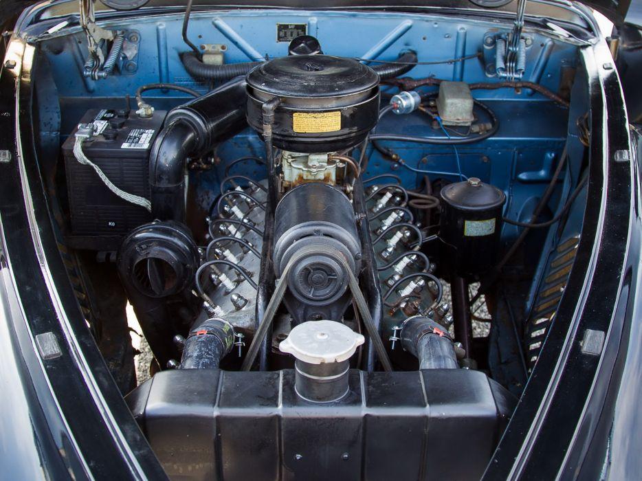 1941 Lincoln Continental Coupe retro luxury engine           g wallpaper