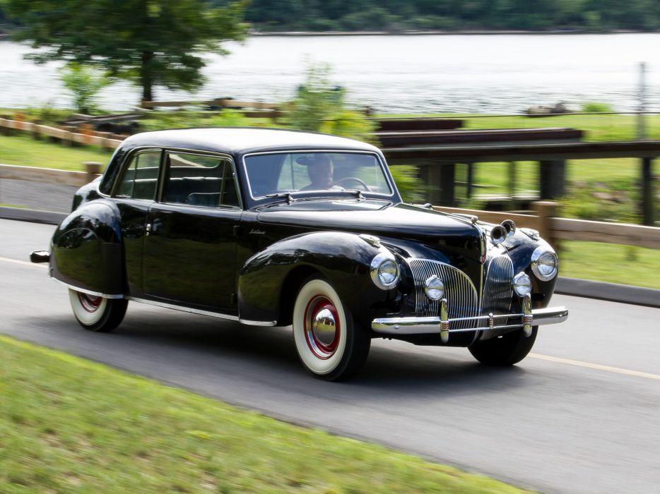 1941 Lincoln Continental Coupe retro luxury  e wallpaper