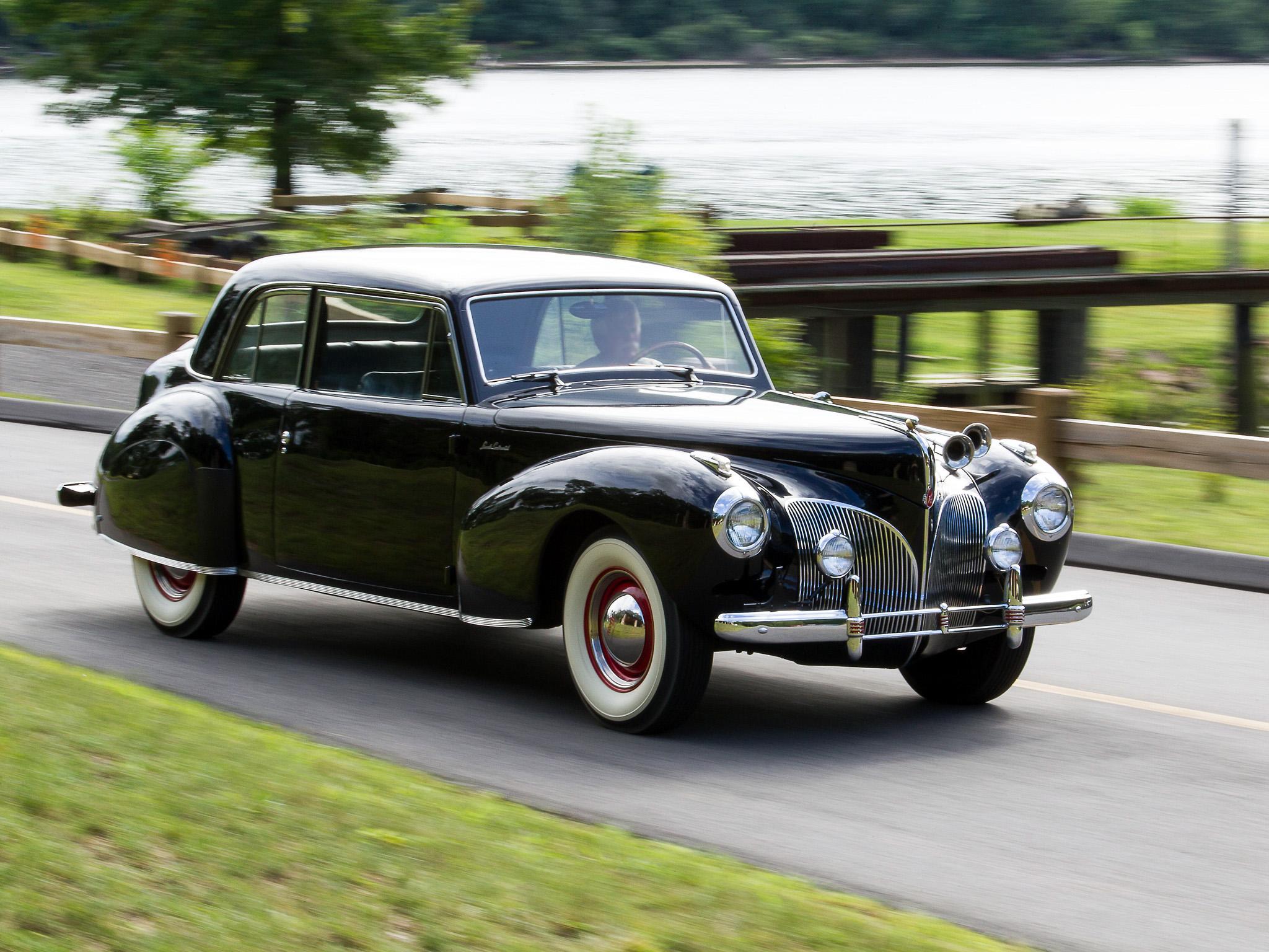 1941 Lincoln Continental Coupe retro luxury e wallpaper | 2048x1536